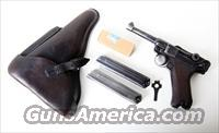 41 CODE 42 NAZI GERMAN LUGER RIG / W/ AMMO