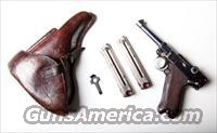 1915 DWM MILITARY GERMAN LUGER RIG