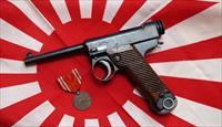 NAMBU JAPANESE T14 WITH SMALL TRIGGER GUARD AND STRAWED PARTS