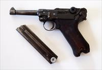 1938 S/42 NAZI GERMAN LUGER