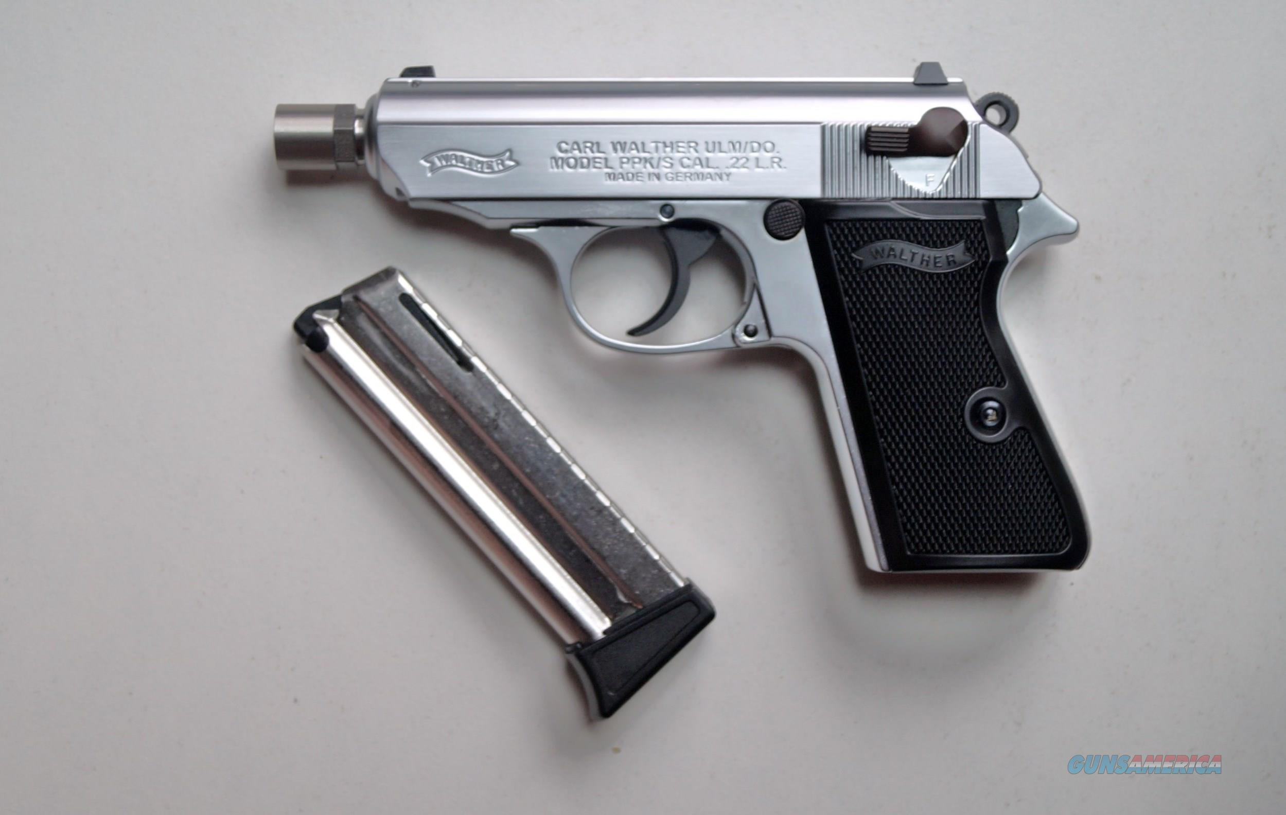 walther ppk s 22 l r nickel n i b for sale rh gunsamerica com User Guide Icon Example User Guide