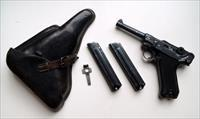 41 BYF BLACK WIDOW GERMAN LUGER RIG