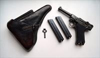 42 BYF NAZI BLACK WIDOW GERMAN LUGER RIG