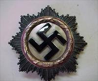 NAZI GERMAN CROSS IN GOLD / ORIGINAL