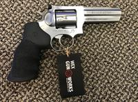 RUGER GP100 STAINLESS .357 MAGNUM 6 SHOT 4 1/8 INCH BBL MINT
