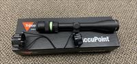 Trijicon, AccuPoint, 3-9x40 Riflescope, Standard Duplex Crosshair With Green Dot, 1 in. Tube