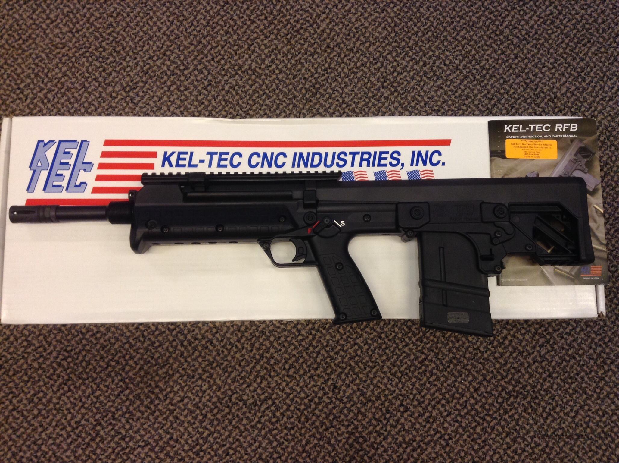 keltec rfb bullpup 7 62x51 308 new in box for sale rh gunsamerica com kel tec rfb user manual Kel-Tec KSG