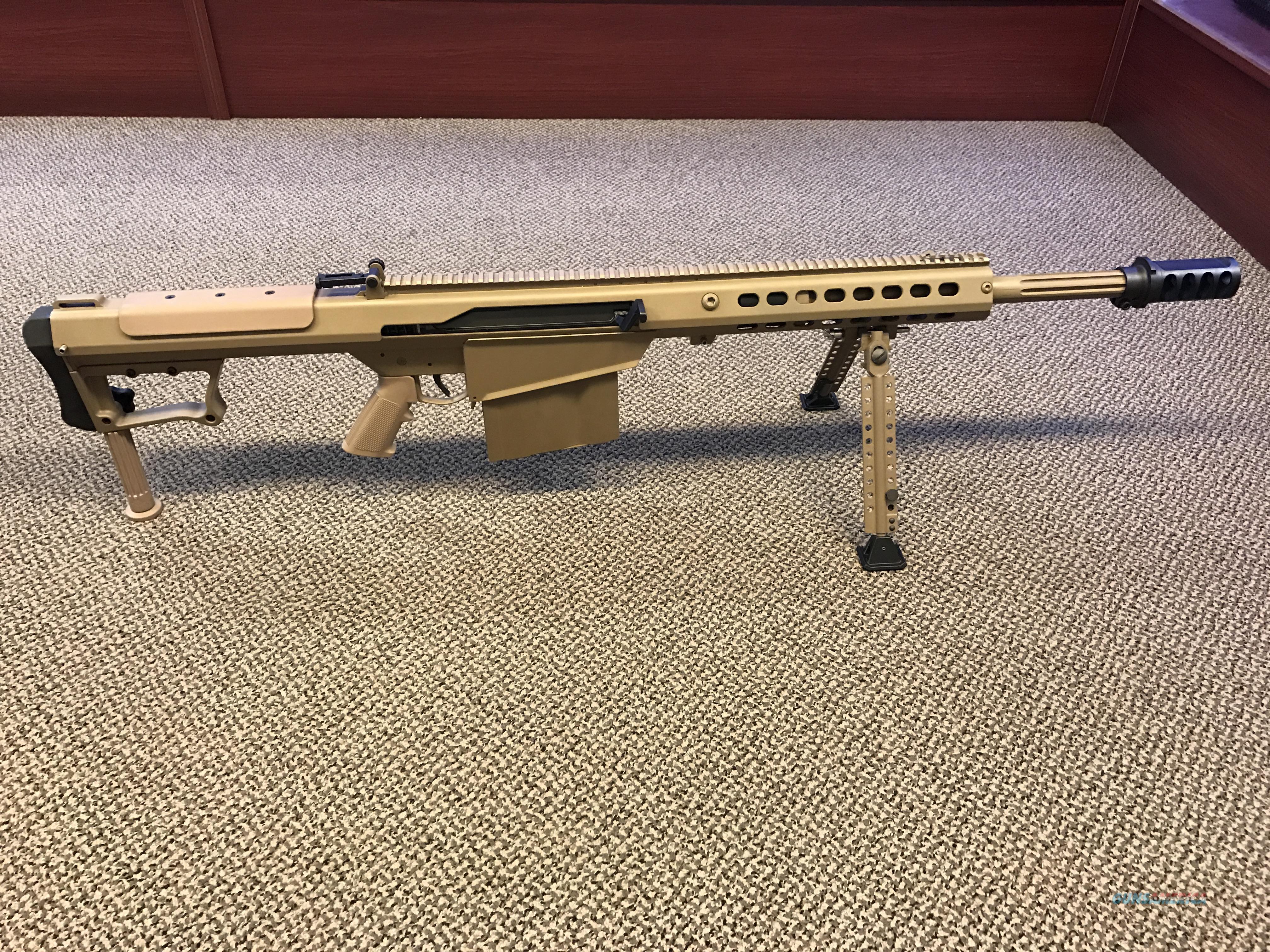 BARRETT M107A1 50BMG 20