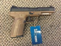 FNH 5.7 PISTOL FLAT DARK EARTH NEW IN BOX