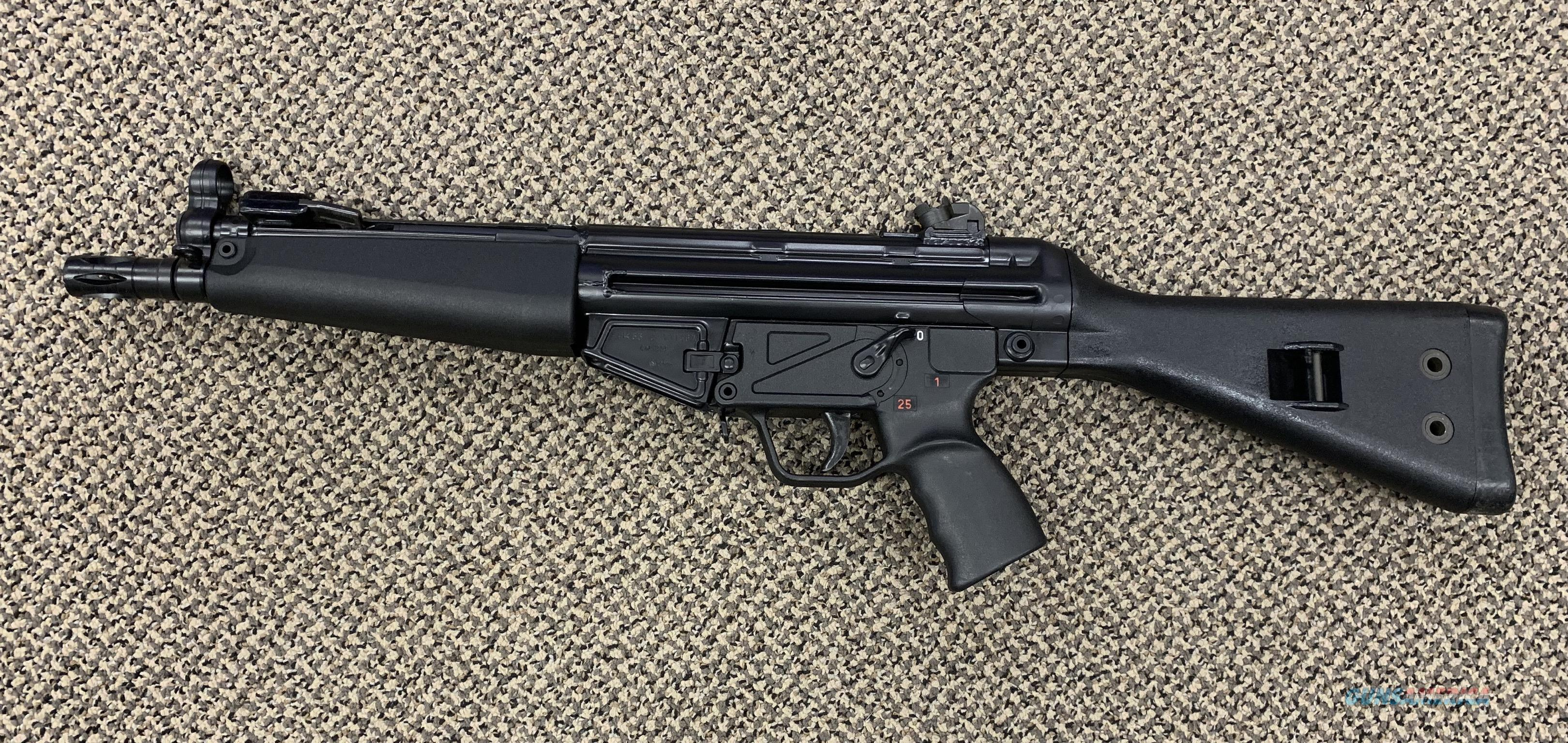 HK HK53 A2 PRE 1986 DEALER SAMPLE FULL AUTO MUST BE SOLD TO CLASS 3 DEALER  ONLY