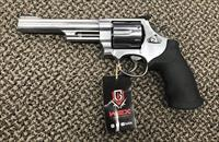 S&W MODEL 629-6 STAINLESS .44 MAGNUM 6 INCH BBL
