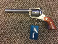 RUGER BLACKHAWK SINGLE ACTION REVOLVER .357 MAGNUM STAINLESS  6 1/2 INCH BBL FIBER OPTIC SIGHTS