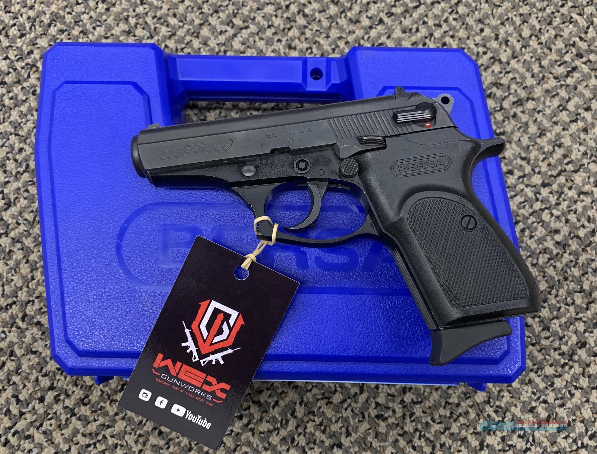 BERSA THUNDER 380 PISTOL EXCELLENT CONDTION
