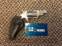 NORTH AMERICAN ARMS .22 MAGNUM 1.75 INCH BBL POCKET CLIP REVOLVER NEW IN BOX