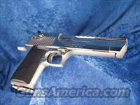 Magnum Research Desert Eagle .50AE DE50BN Nickel