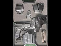 "Springfield XD9 Subcompact 3"" 9mm Conceal Carry Package, Trijicon Night Sights, Extra Holsters, CA PPT OK"