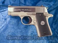 Colt Mustang Pocketlite SS .380 ACP 06891 New