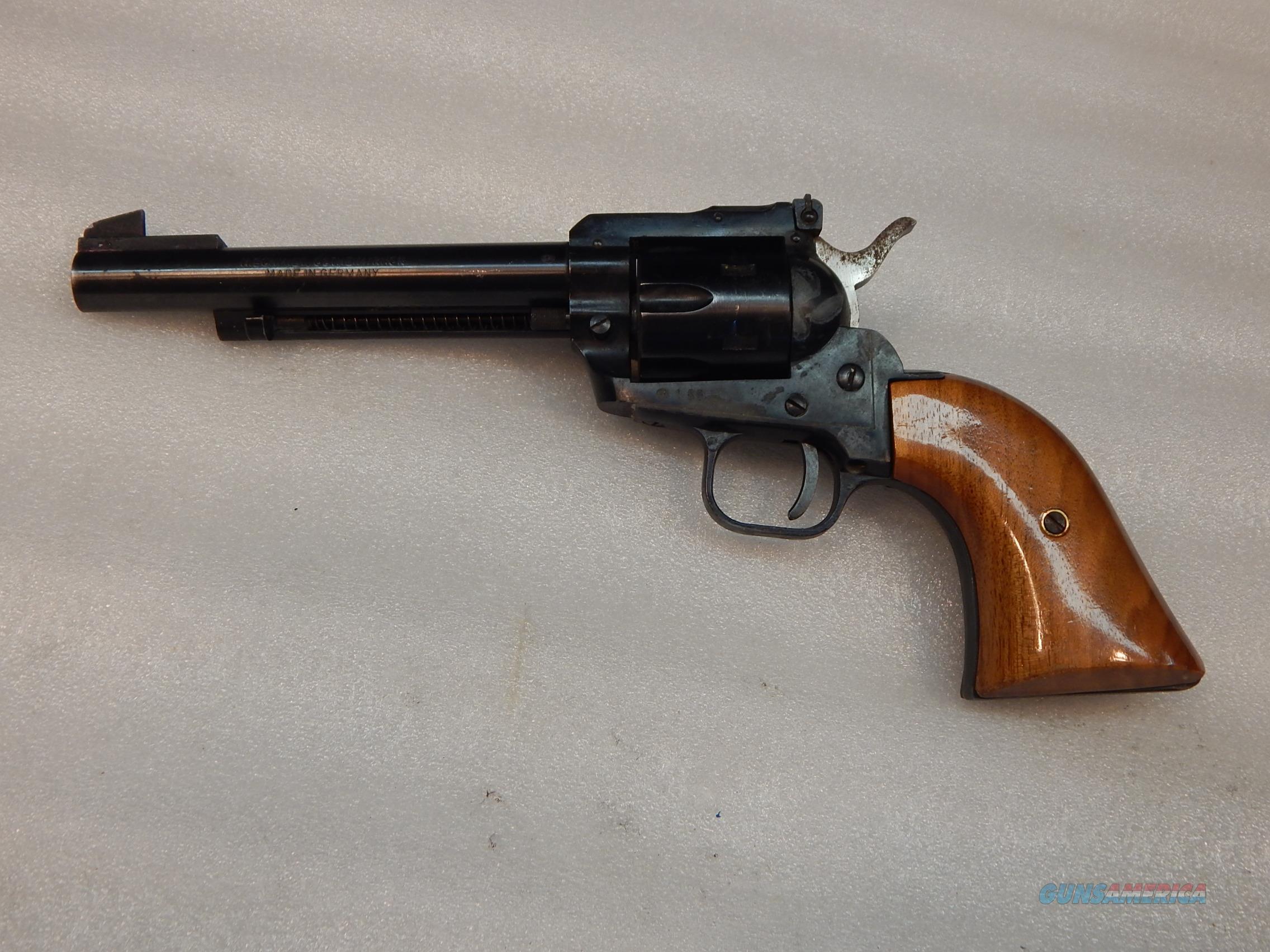 H  Schmidt 22LR SA Revolver - Made in Germany