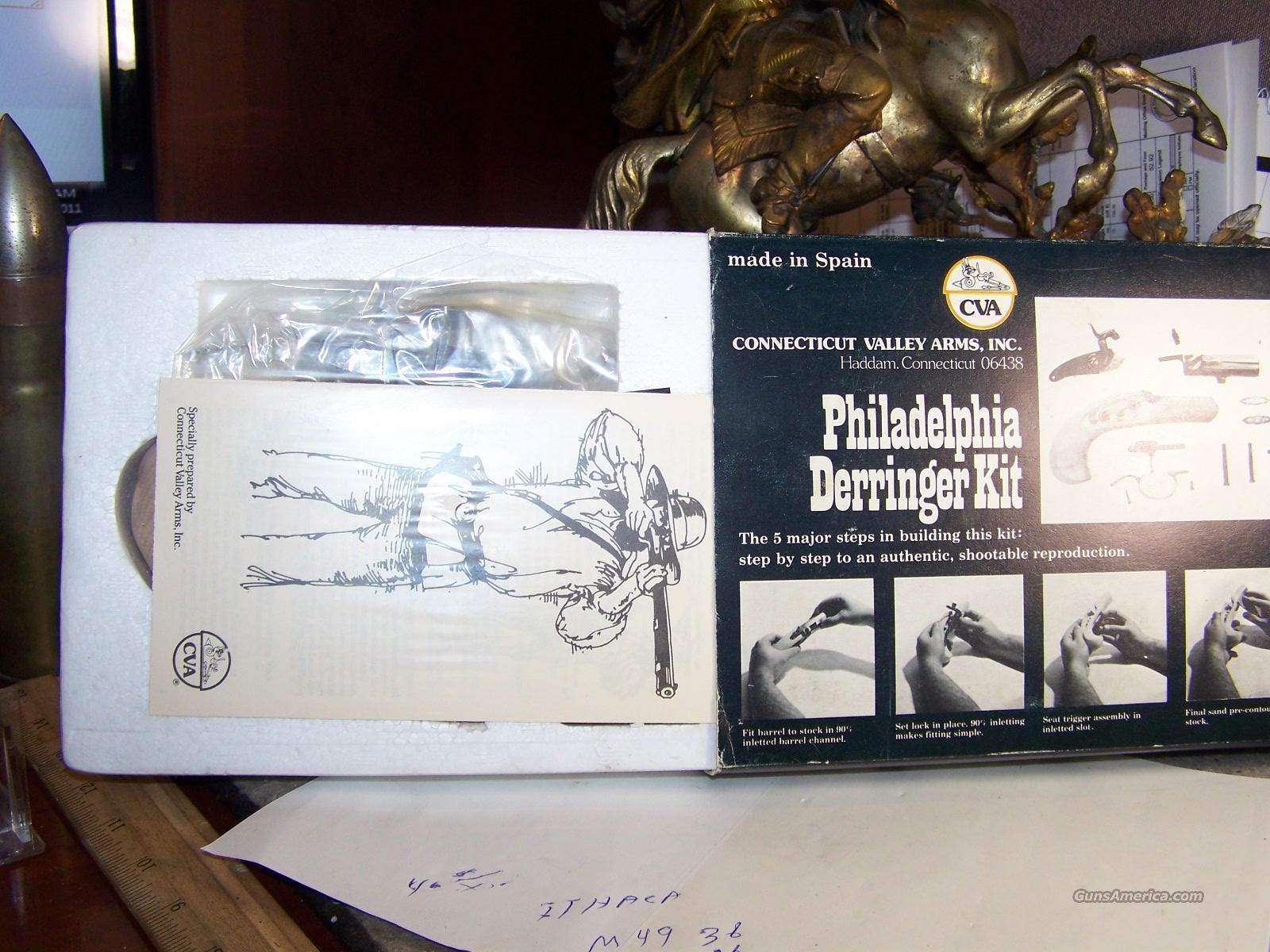 PHILADELPHIA DERRINGER KIT C V A  MINT IN BOX UNOPENED 45 CA