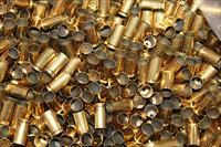 Once Fired Clean Polished 9mm Brass 2500 (22 Pounds) + 3%