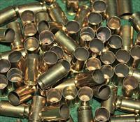 Once Fired Clean polished 9mm Brass 1000 + 3% Free Shipping