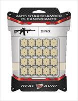 Real Avid AR-15 Star Chamber Cleaning Pads 20ct FREE SHIPPING