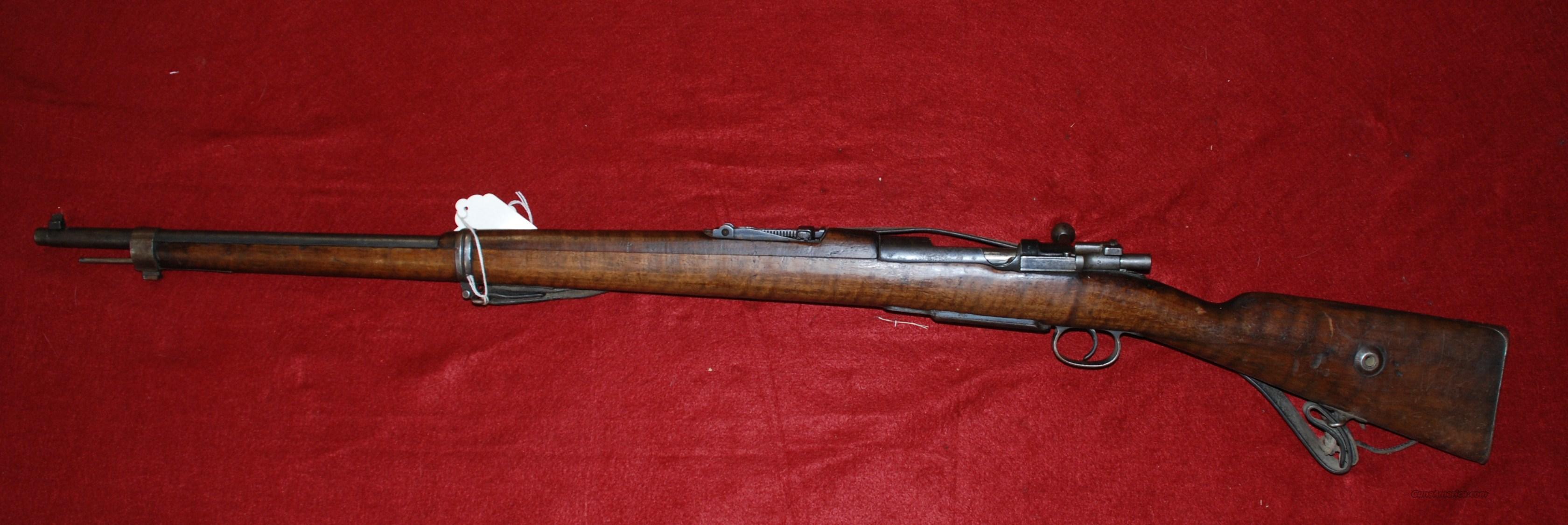 Turkish Mauser 1893 8X57