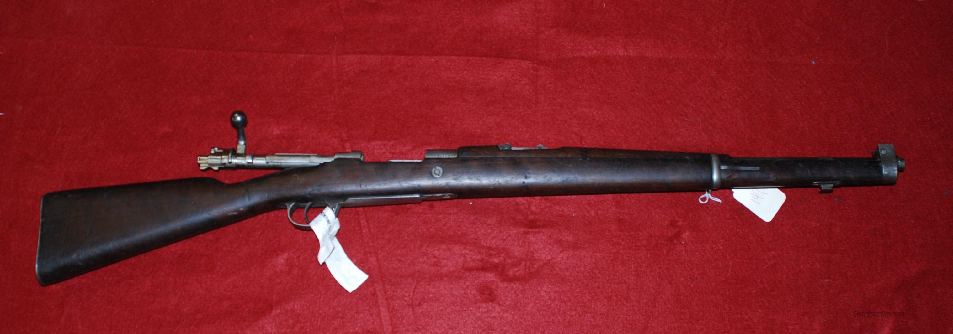 Argentine Modelo 1909 Cavalry Carbine 7 65 Argentine