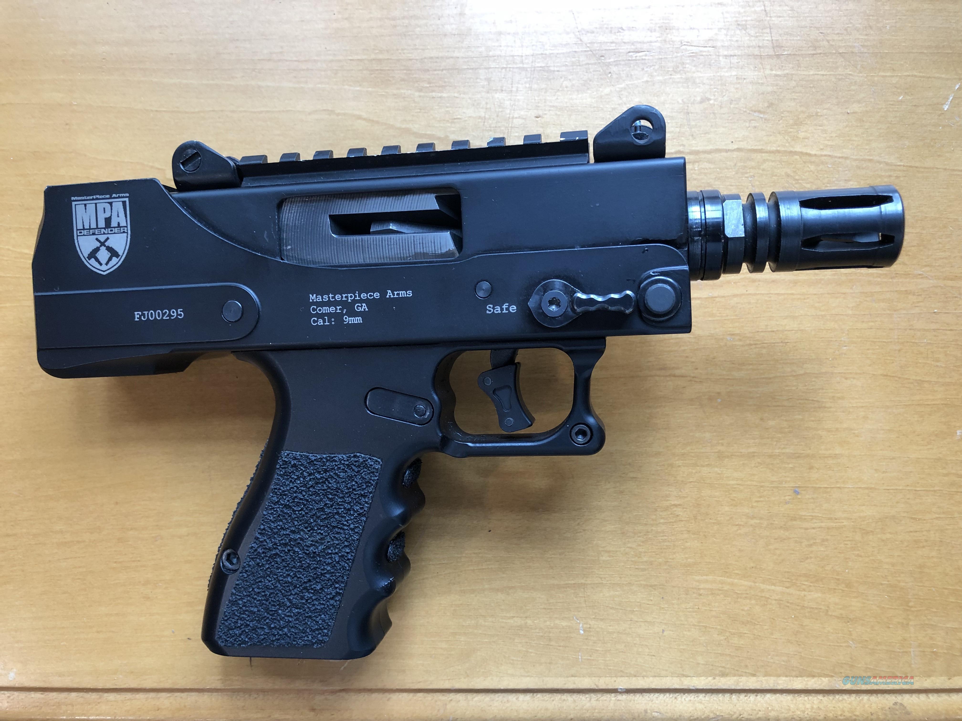 MPA 930SST Defender Side Cocking Mini 9mm 35quot TB wScope