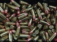 50 rounds of 9mm Red Day/Night Tracer Ammo