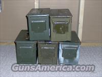 USGI 50 caliber Green Metal M2A1 Type Ammo Can
