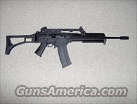 Ruger 10/22 with Archangel kit, .22LR clone of HK G36 rifle