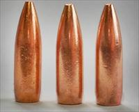 CopperHead  .22 Caliber .224 Dia. 55gr BT, SOLID COPPER Bullet 100 count