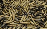 500+ Once Fired 223/5.56 NATO brass casings
