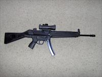 RARE- HK34 style 9mm HK94/MP5 clone rifle with 93 handguard