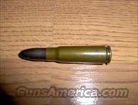 10 Rounds of East German short range 7.62x39 ammo