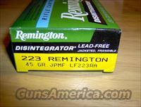 20 Rds Remington 45gn 223 Disintegrator® Jacketed Frangible