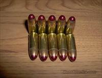 10 rounds of 9mm Red tipped tracer ammo