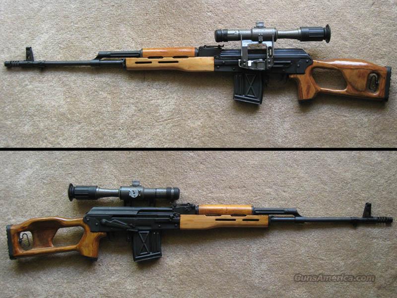 Original Romanian PSL FPK Sniper Rifle in 7 62x54R