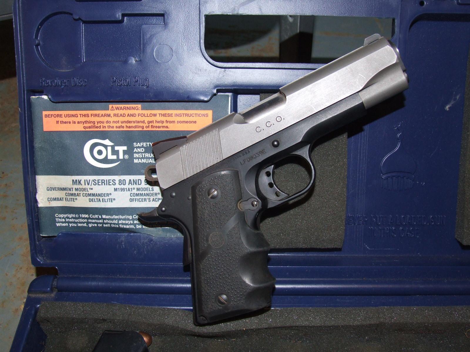 Colt Government Model MK IV/Series 80 CCO