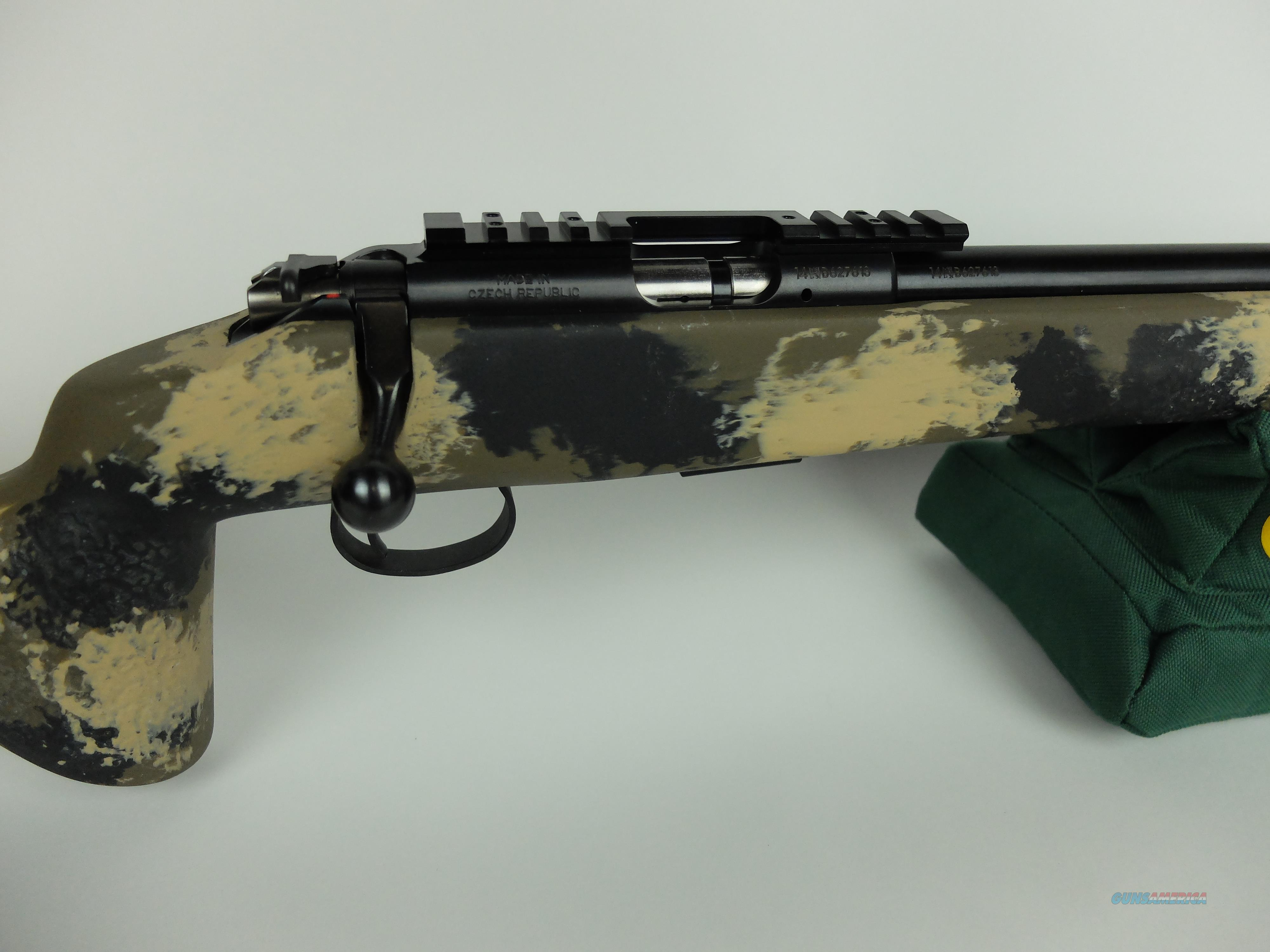 CZ 455 Trainer  22LR bolt action in Manners stock with threaded barrel
