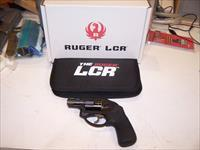 ALMOST NEW RUGER LCR-357 DA REVOLVER w/Long Hogue Cushioned Monogrip !