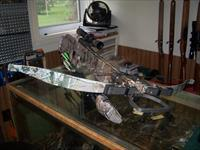 PRE-OWNED EXCALIBUR EQUINOX CROSSBOW. EXCELLENT CONDITION WITH LOTS OF EXTRAS!!!