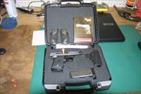 "NICE USED SIG P938 .9MM 3"" NIGHT SIGHT 6-SH TWO-TONE BLACKWOOD. LOTS OF EXTRAS !!!"