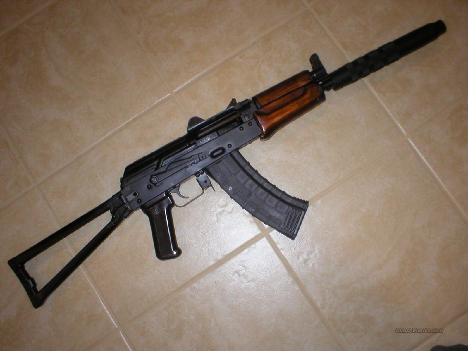 Russian Tula AKS-74U