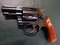S&W Model 36 - NO DASH, .38 Special, pinned barrel, Very Excellent Condition!!!
