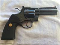 "GREAT PRICE: Colt Python 4"" blue, excellent!"