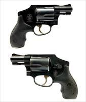 Smith & Wesson Model 442-1 Airweight .38 S&W SPL +P Revolver