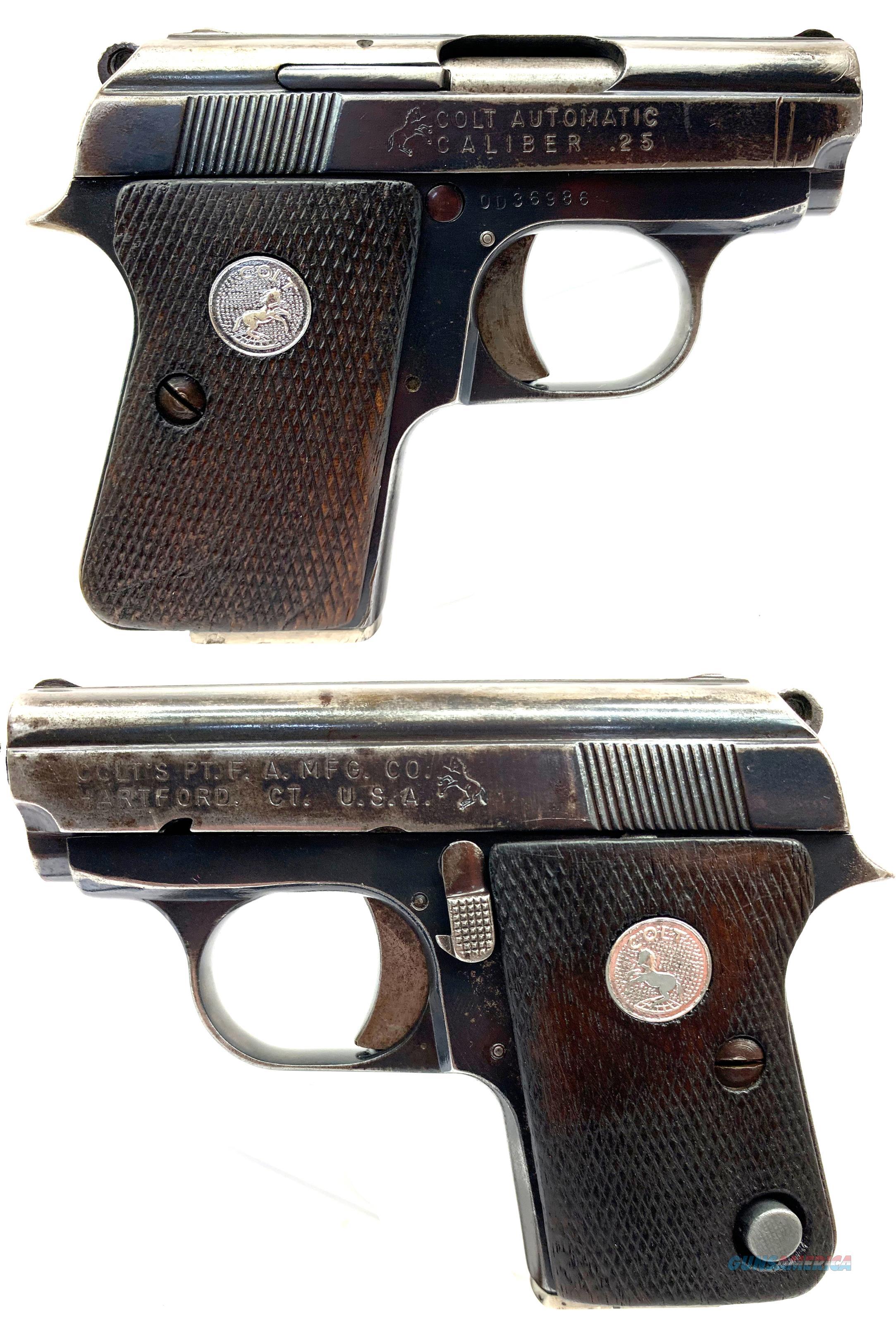 Triple K .25 Cal. Blued 6 Round Colt Pocket 25 Auto Hammerless