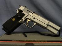 Browning Hi Power 9mm Satin model - limited amount manufactured